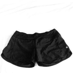 lululemon athletica Shorts - Lululemon Athletica Black Running Shorts Size 6